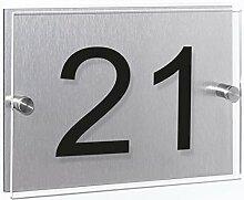 Wandkings Hausnummernschild - verschiedene