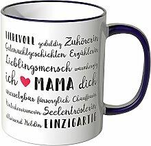 Wandkings® Tasse, Mama Eigenschaften - LILA