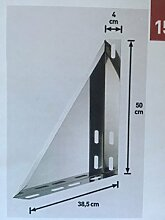 Wandkonsole verstellbar 50-150 mm