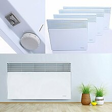 Wandkonvektor Elektroheizung Heizgerät Heizkörper Heizung Elektro Heizer Wärme | 2000W