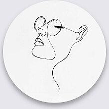 Wandkraft | Wanddekoration Fineline weiß metall