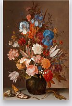 Wandkraft | Wanddekoration Stillleben mit Blumen