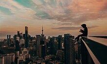 Wandkraft | Wanddekoration Travel Sky Mehrfarbig