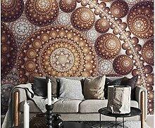 Wandkunst Aufkleber Abstrakt Kugel 3D Fototapete