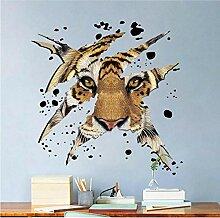 Wandkunst Aufkleber Dekoration Tiger vinyl DIY