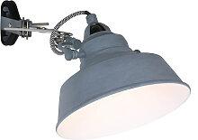 Wandlampe 1320GR Leselicht Vintage Klemmleuchte