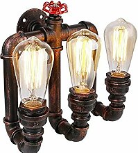Wandlampe,Amerikanische Wasserpfeifenwandlampe,