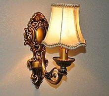 Wandlampe antike Beleuchtung Schlafzimmer
