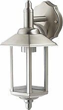 Wandlampe Außenleuchte Außenlampe Pandora Edelstahl IP44 LED geeignet Wandleuchte Lampe