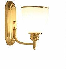 Wandlampe Badlampe Kupferlampe Spiegelschrank