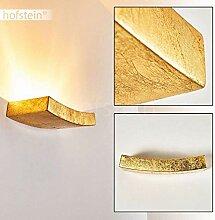 Wandlampe Bochum aus Keramik in Gold, Wandleuchte