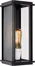 Wandlampe Capital L Flach