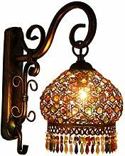 Wandlampe Eisen Retro Antik Design Orientalische