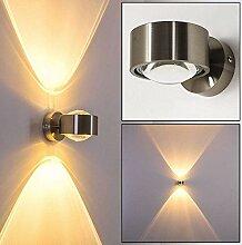Wandlampe geradlinig - Effektlampe mit zwei