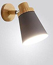 Wandlampe,Hauptdekorationslampe Nordic Massivholz