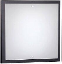 Wandlampe Holz / Wenge / 2x E27 bis 60 Watt 230V / Holz & Glas / Wandleuchte Bauhaus / Schlafzimmer Beleuchtung Wohnzimmer Lampe Flur Esszimmer