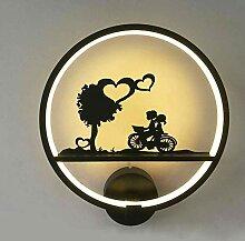 Wandlampe im nordischen Stil, 18 W,