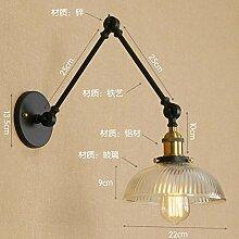 Wandlampe Industrial Vintage Wandleuchte,Retro