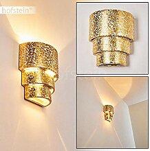 Wandlampe Karatschi aus Keramik in Gold,