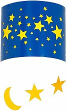 Wandlampe Kinderzimmer Gelb Blau E14 Mädchen