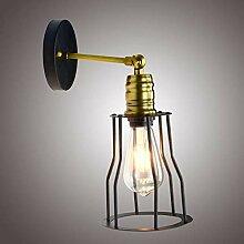 Wandlampe Kreative Schmiedeeisengangwandlampe Der