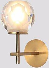 wandlampe Kristallglas Bett Lampe Wohnzimmer,