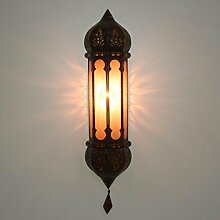 Wandlampe Lampe Wandleuchte Leuchte Orientalisch Ruya Amber
