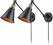 Wandlampe Links/Rechts Schwenkarm Wandleuchte