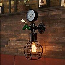 wandlampe Loft - Nostalgie - Lampe Stufen,