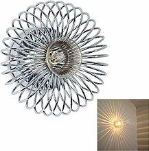 Wandlampe Meran aus Metall in Chrom, moderne