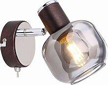 Wandlampe mit Schalter Wandstrahler Flur