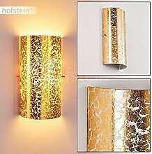 Wandlampe Modica aus Metall/Glas in Gold, moderne