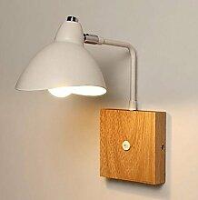 Wandlampe Nordische Holz Wand Moderne Und Kreative