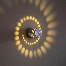 Wandlampe Originalität, Aluminium-Material,