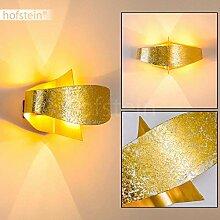 Wandlampe Padua aus Metall in Gold, moderne