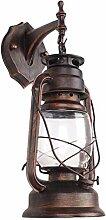 Wandlampe Retro Industrie-Stil Petroleumlampe LED