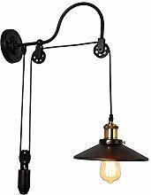 Wandlampe Retro Kabel Enverstellbare,