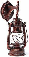 wandlampe retro metall antik wandleuchte vintage