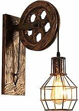 Wandlampe Retro & Vintage Wandleuchte Verstellbar