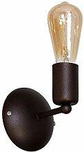 Wandlampe Rost Braun Metall Industrial Design