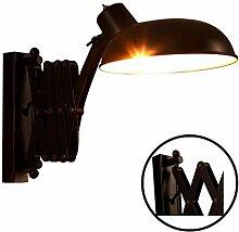 Wandlampe Rustikal Innen, Wandleuchte Vintage mit