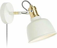 Wandlampe Seeksung Metallic Weiß E14