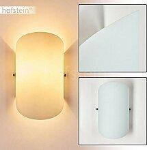 Wandlampe Teramo aus Glas in Weiß, moderne