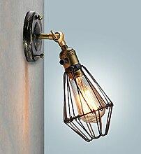 Wandlampe Vintage - 180° schwenkbar Wandleuchte