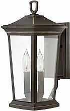 Wandlampe Vintage Design in Bronze IP44 Rustikal