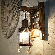 Wandlampe Vintage WZOED Petroleumlampe Retro