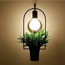 *wandlampe Wandlampe - Grüne Eisenwandlampe