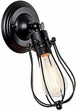 *wandlampe Wandleuchte Industrial Wind Eisen E27