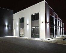 Wandlampe Wandleuchte Wandstrahler Außenleuchte GP-235 Gartenfassung IP54 mit 2 X LED SMD PanderLights TÜV SÜD