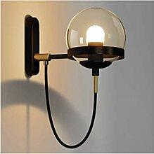*wandlampe Wandleuchten Industrie Wind Glaskugel